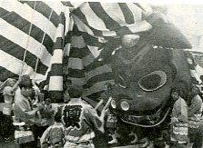 仁藤の大獅子 「静岡県の祭りごよみ」 より転載