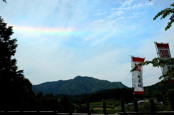 「虹の想い出」  八谷 文代