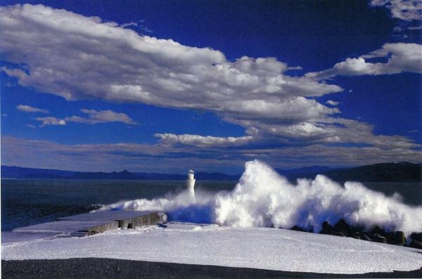 特選 「台風一過の海岸」  赤堀 末夫