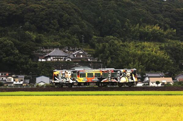 「戦国バサラ絵巻列車」  高山申二
