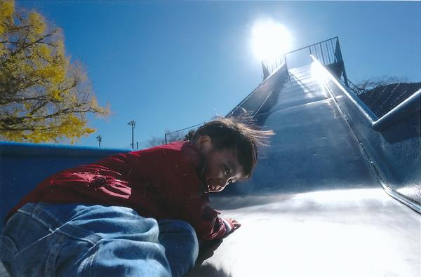 「登るの大変」  遠津 輝男