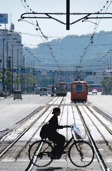 「路面電車の町」  辻村 友博