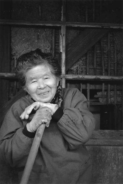 「母 米寿」  若林 茂