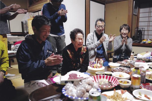 「86歳の感涙」 高根美奈夫