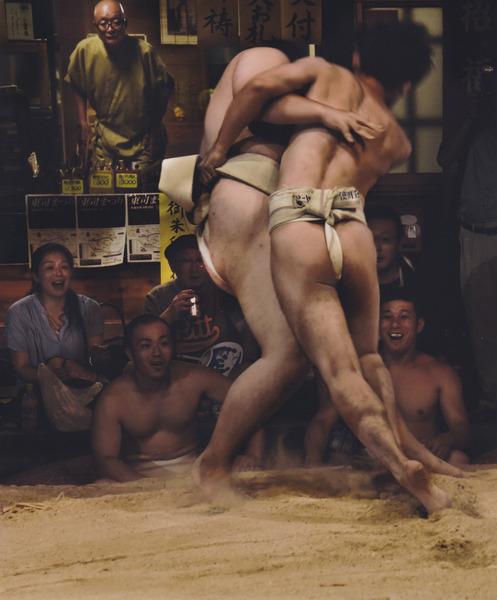 「田舎相撲」  加藤 利光