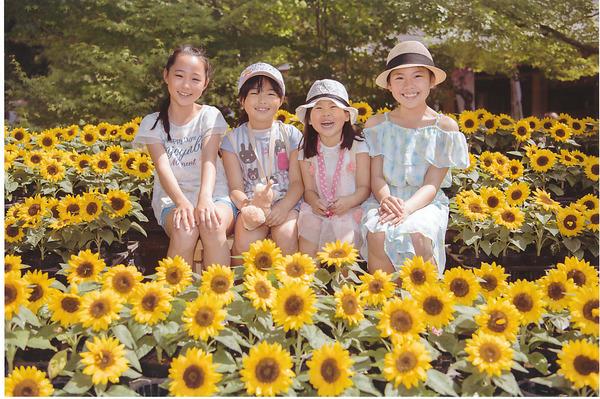 「花と笑顔」  池田 三吉