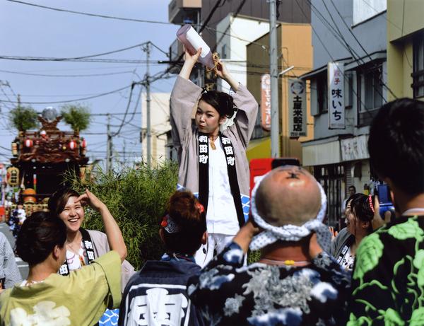 推薦  「女神輿出陣式」  斉藤 勝宣