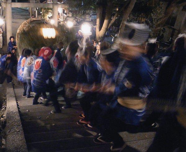 朝日新聞社賞 「登り太鼓」 加藤利光