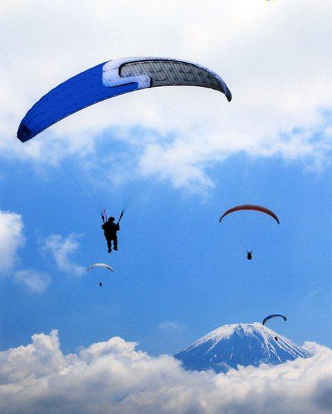 「富士に向かって」 平田弘治