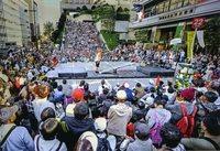 <静岡の今> 「大道芸」  中村勝利