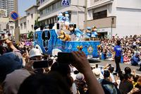 <静岡の今> 「三島でディズニーのパレード」 諸伏敏昭