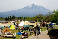 <静岡の今> 「田貫湖キャンプ場」  薩川�宏