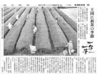 一写一筆(第27回) 朝日新聞に掲載