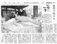 「一写一筆」(第42回)朝日新聞に掲載