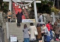 <静岡の今> 「素戔嗚神社雛壇飾り」  竹之内範明
