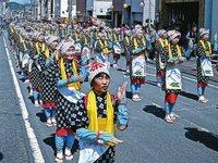 < 静岡の今> 「茶娘千人踊り」  中村勝利