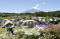< 静岡の今> 「富士山の見えるキャンプ場」  勝又説夫