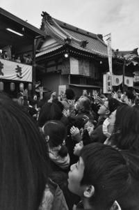 <静岡の今> 「平成最後の豆まき」  宗像正人