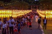 <静岡の今> 「みたま祭」 望月導章