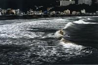 カラー写真の部 特選 [荒れる白波」 青木照実