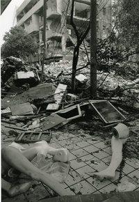 組写真の部 特選 「四川」大地震」 中嶋 恒