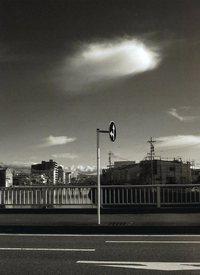 モノクロ写真の部 特選 「ひとひらの雲」 望月大介