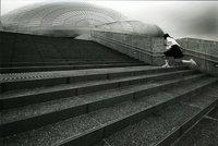 モノクロ写真の部 特選 「雨の予感」 山田 康