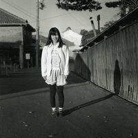 ●モノクロ写真の部 ◎特選 「夕陽の中で」 齋藤作行