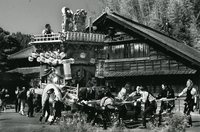 ●モノクロ写真の部 ◎全日写連賞 「村祭」 渡辺修一郎