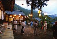 ●カラー写真の部 ◎特選 「有東木の盆踊り」 村越敏治