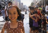 ●カラー写真の部 ◎特選 「祭りの子」 河村圭子
